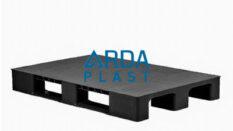 80×120 Düz Siyah Plastik Palet