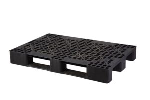 80x120 delikli siyah plastik palet