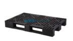 80×120 Delikli Siyah Plastik Palet